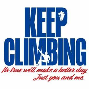 KEEP CLIMBING に当店も賛同しております!